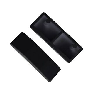 Aluminium Window Handle Cockspur Wedges Wedge Strike Plate White or Black Upvc