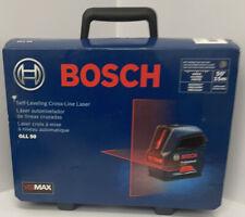 Bosch Gll 50 Self Leveling Cross Line Laser