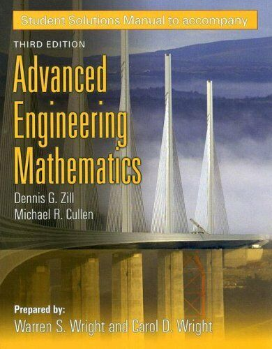 Ssg- Advanced Engineering Math 3e S by Wright, Warren S. -ExLibrary