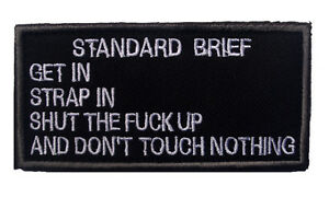 standard-brief-ARMY-MORALE-BADGE-TACTICAL-MILITARY-EMBROIDERED-PATCH-A-705