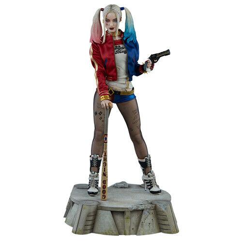 DC COMICS Suicide Squad  Harley Quinn Premium Format cifra 14 Statue Sidemostrare