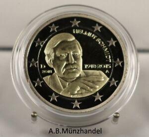 Deutschland 2018 2 Euro Gedenkmünze Helmut Schmidt Aus Kms Adfg