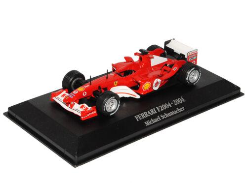 Ferrari F2004 Michael Schumacher 2004 Formel 1 1//43 Atlas Modell Auto mit oder..