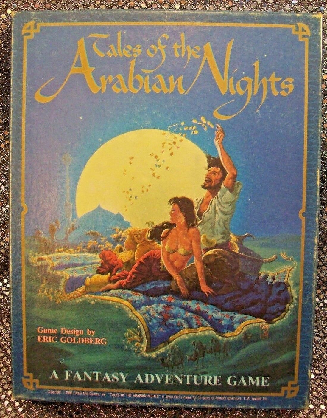 TALES OF THE ARABIAN KNIGHTS [1ST ED.] WEST END GAMES  11003 - COMPLETE - VG+