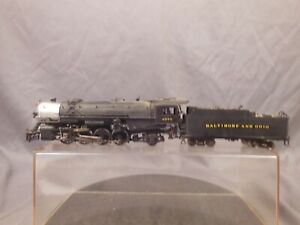 HO-SCALE-SUNSET-MODELS-B-amp-O-L1-MIKADO-2-8-2-LOCOMOTIVE