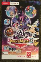 Nintendo Disney Magical World 2 Poster Promo Poster, 11x17