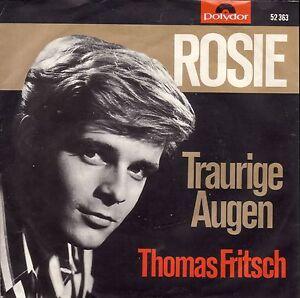 Thomas Fritsch - Rosie / Traurige Augen (7 Polydor Vinyl