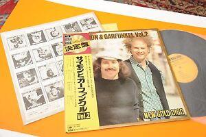 SIMON-amp-GARFUNKEL-LP-NEW-GOLD-DISC-JAPAN-NM-AUDIOFILI-OBI-INSERTO