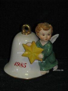+ # A008981_07 Goebel Archive Motif Années Cloche 1985 Avec Ange Et étoile 44-304-afficher Le Titre D'origine