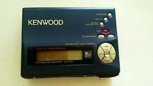 PORTABLE-KENWOOD-DMC-F5R-MINI-DISC-RECORDER-WALKMAN-as-is-made-in-Japan-woow