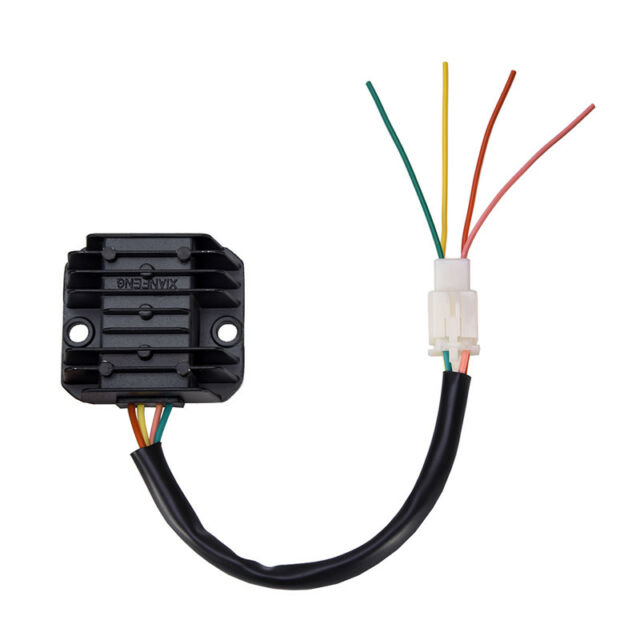4-wires voltage regulator rectifier atv gy6 50 150cc scooter moped jcl nst