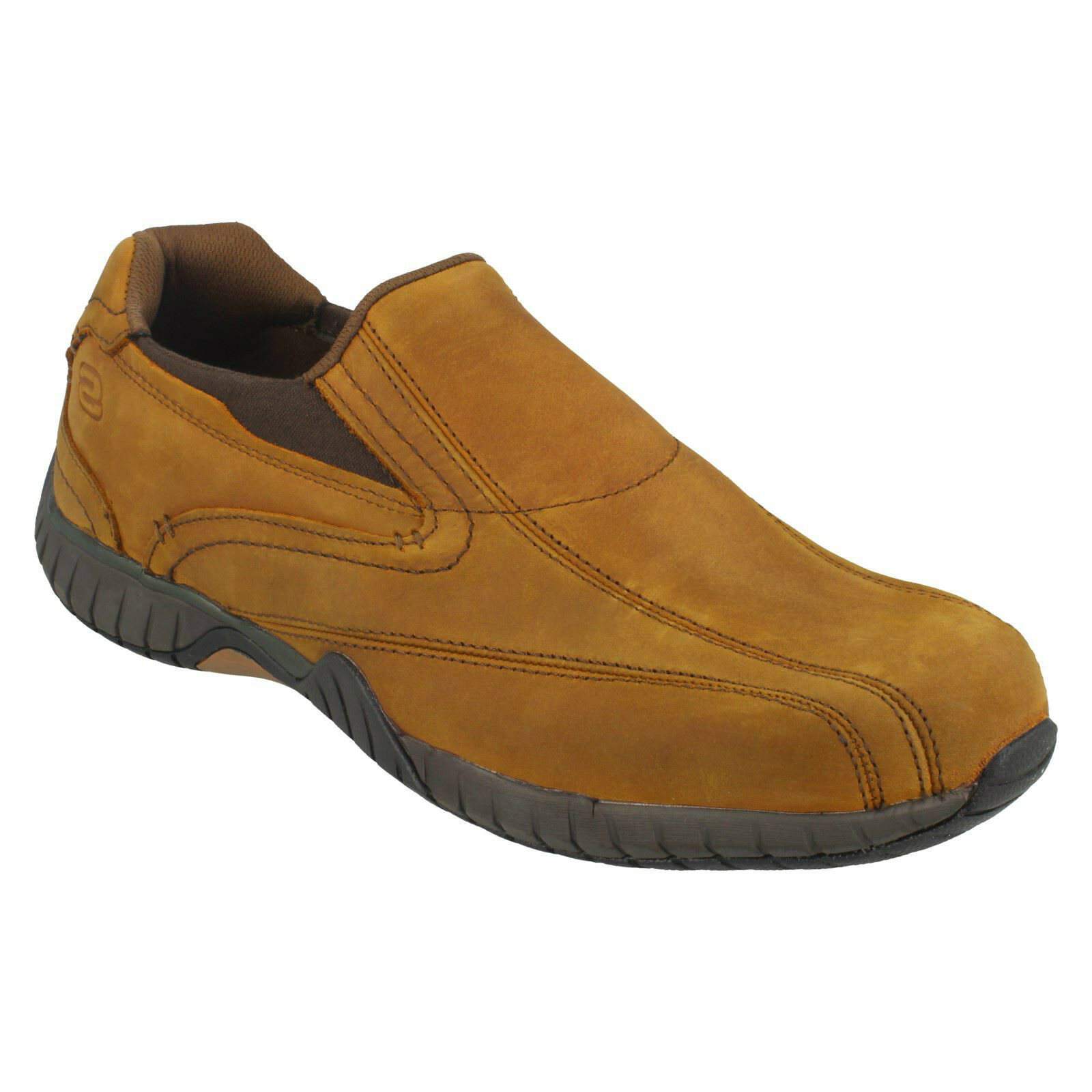 Skechers Sendro Bascom Trainers Mens Memory Foam Slip On Leather Shoes