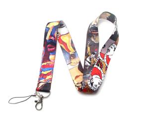 Freddie Mercury Keychain Lanyards Id Badge Holder ID Card Pass Gym Mobile Phone