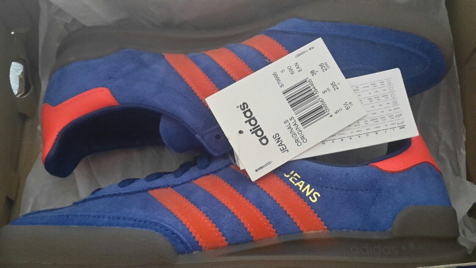 Adidas Jeans Taglia 5 Dublin C/W Deadstock Nuovo con scatola e con etichette