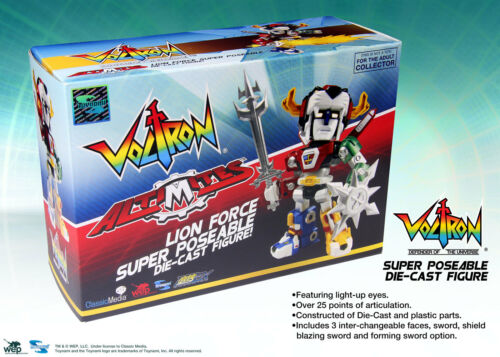 Altimites Voltron 30th Anniversary Super Déformé Diecast figure-Comme neuf in Box Toynami