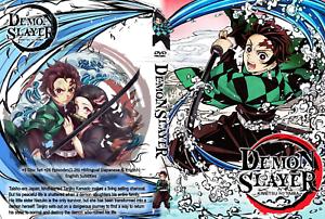 DEMON SLAYER, ANIME, 3 DVD (Season 1) [English Dubbed] 1 ...