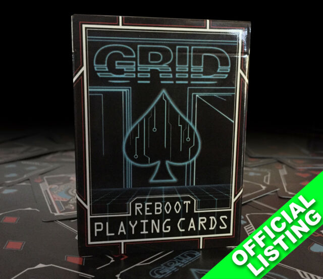 Grid Reboot Playing Cards