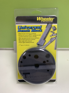Wheeler-Universal-Bench-Block-Non-Marring-for-Pistols-Gunsmithing-Bench-Block