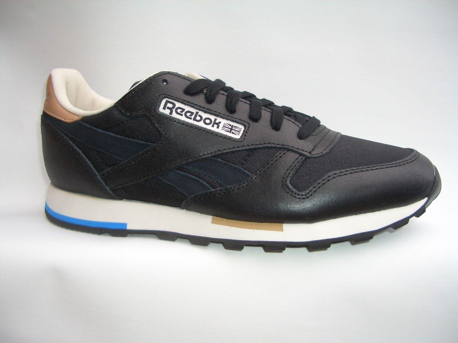 REEBOK CL LEATHER CASUAL  black  Sneaker Classic Laufschuhe