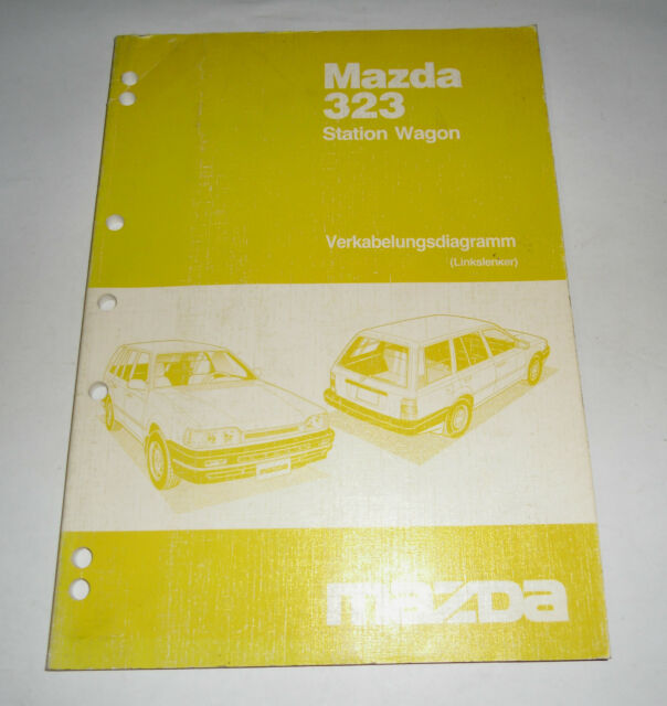 Workshop Manual Mazda 323 Station Wagon Bw Electricity