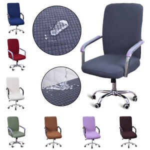 Tremendous Details About Office Computer Chair Covers Slipcovers Removable Chair Stretch Protective Cover Machost Co Dining Chair Design Ideas Machostcouk