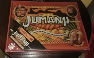 Details About New Jumanji Board Game Cardinal Edition Real Wooden Wood Box Mintiest Wow