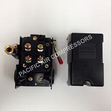 Heavy Duty Air Compressor Pressure Switch 95 125 Psi Adjustable 4 Port 14