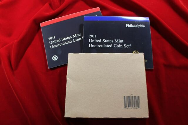2011 US Mint Uncirculated Complete Set
