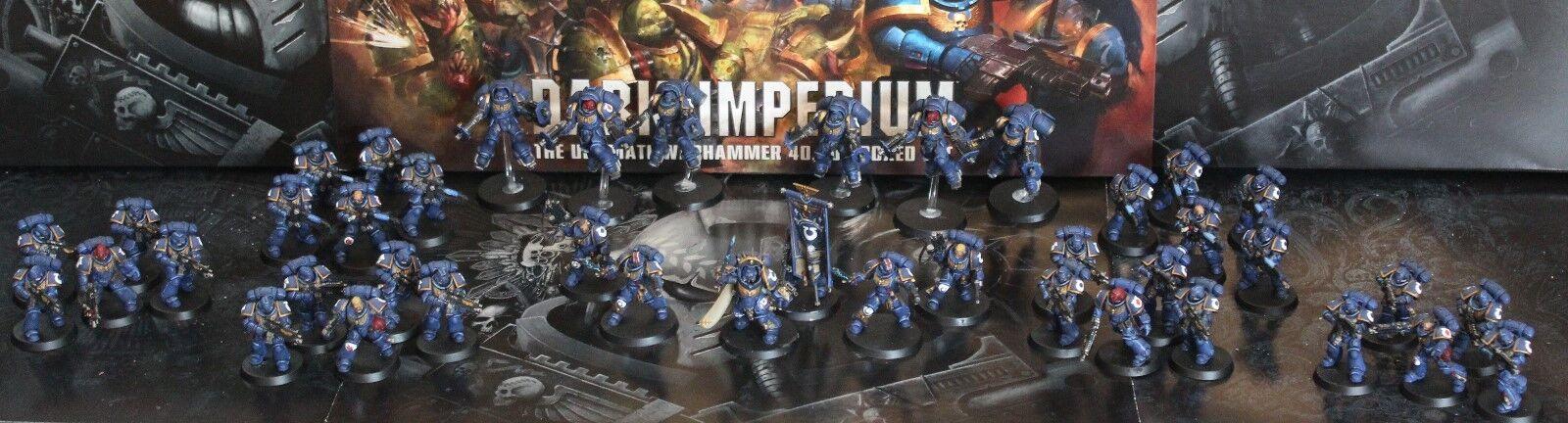 Primaris marines espaciales grande del ejército Pro Pintado cualquier capítulo hecho a pedido