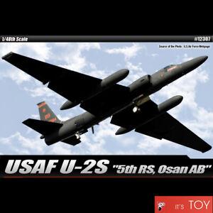 Academy-1-48-USAF-U-2S-034-5th-RS-Osan-AB-034-reconnaissance-Plastic-model-kit-12307