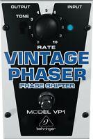 Behringer Vp1 Vintage Phaser Pedal on sale