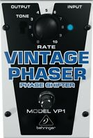 Behringer Vp1 Vintage Phaser Pedal