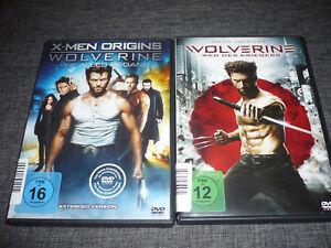 DVD-X-Men-Wolverine-1-2-1-2-Weg-des-Kriegers-Hugh-Jackman
