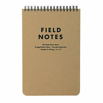 Field Notes Brand: 80-Page Steno Pad