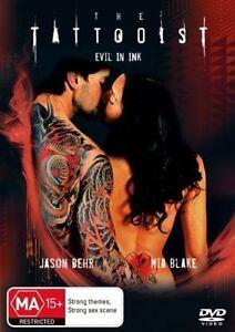 The-Tattooist-DVD-Jason-Behr-Thriller-Movie-Mia-Blake-REGION-4-AUSTRALIA