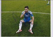 Juan MATA SIGNED Autograph CHELSEA FC 11x8 Photo AFTAL Champions League MEDAL