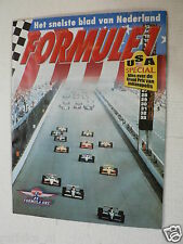 FORMULE 1 SPECIAL ISSUE USA SPECIAL INDIANAPOLIS,ARIE LUYENDIJK,NEWMAN,ANDRETTI