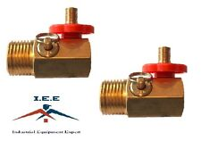 2 Compressed Air Bubble Tank Manifold Valve W/ Fill Port , Ball Valve , & Relief