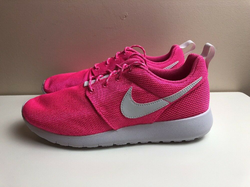 Nike Roshe One GS Womens Trainers Pink White 599729 611 New shoes for men and women, limited time discount