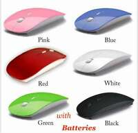 Wireless Optical Mouse 2.4ghz Usb 2.0 Receiver Pc Laptop With Battery Quality