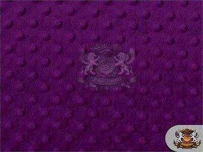 """Minky Dimple Dot Fabrics / 60"""" wide / Sold By the Yard"""
