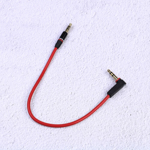 3.5mm Short 20cm Jack to Jack Aux Cable Male to Male Stereo Audio Cables Cord 0U