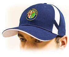 ALFA ROMEO unisex Baseball cappellino Cap. Cotone, Blu scuro, misura regolabile