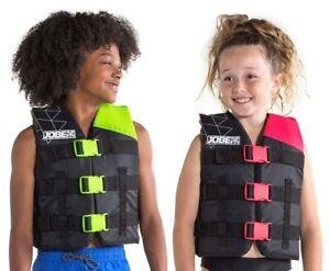 Jobe Nylon Life Vest Youth Kinder Schwimmweste Schwimmhilfe lime green