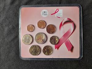 Mini-set France 2017 BU Ruban Rose pour aider la lutte contre le cancer du sein