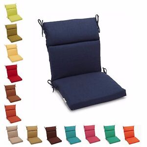 Ordinaire Image Is Loading Outdoor Chair Cushions Patio Garden Zippered Pads With