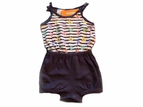 NWT Girl/'s Gymboree Hop n/' Roll striped flower shirt shorts outfit ~ 2T 3T 5T