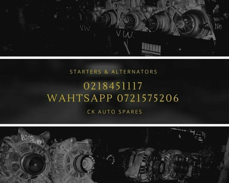 Starters and alternators for most vehicles make and models for sale