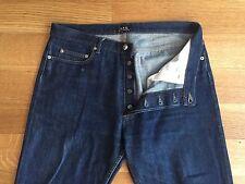 A.P.C. APC Mens OG STANDARD Selvedge Denim Jeans Size 34 36 x 31 $185