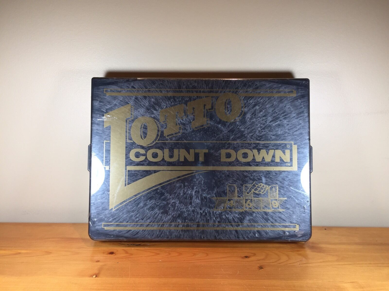Lotto Count Down Board Game Vintage Rare
